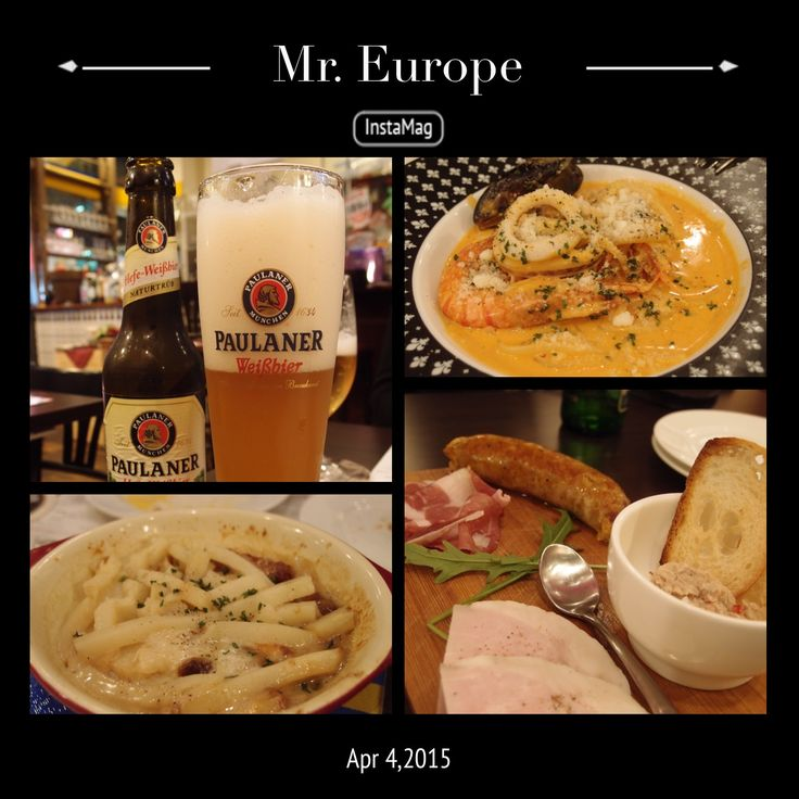 関内にあるMr. Europe で食事