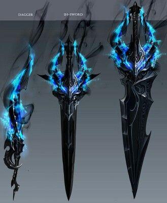 Beritra weapons