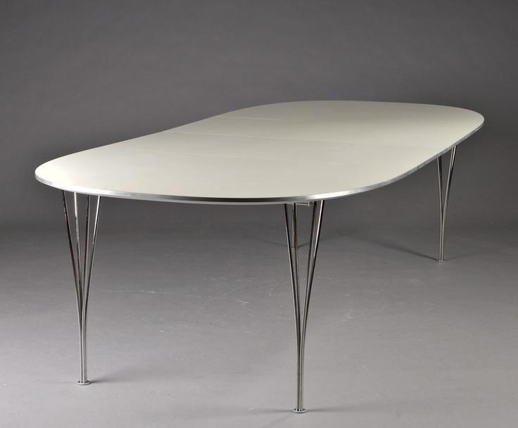 Piet Hein and Bruno Mathsson. Super Ellipse Table.1968