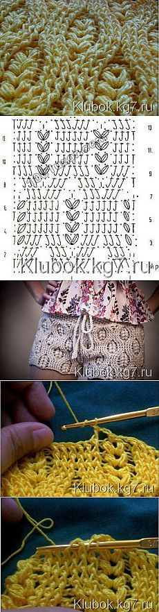 O padrão de relevo crochet | Emaranhado