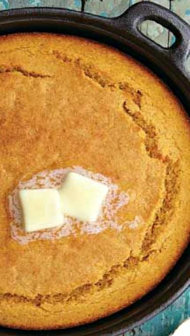// Sweet Potato Cornbread