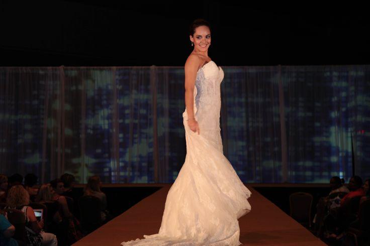 Beautiful wedding dress on the runway olrlpwgshow for Wedding dresses orlando fl