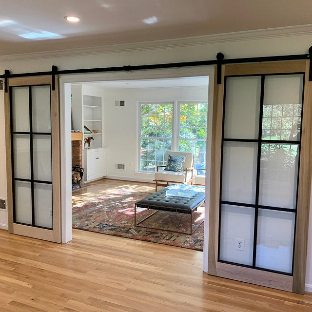 Beautiful Glass Barn Doors In 2021 Glass Barn Doors Interior Glass Doors Interior Glass Barn Doors