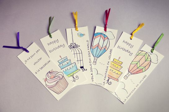 #bookmarks #handmade by Voila HandMade Pronti, Partenza… Via! | Voilà