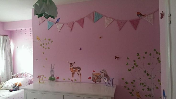 Checovenyl, Bunting, wall stickers, girls bedroom