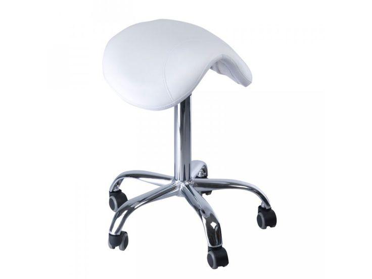 Kosmetická stolička RODEO BD-9909 bílá . Nabízíme kvalitní potřeby pro gelové nehty, akrylové nehty, řasy a péči o ruce, BeWoman.