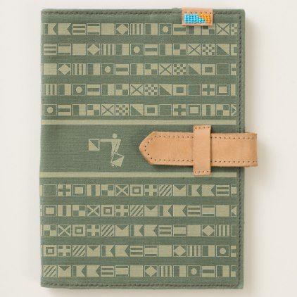 #customized - #Nautical Flag Semaphore Alphabet Journal