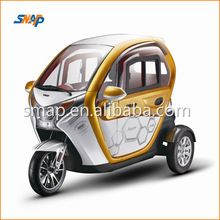 Transit IS 1200W72V50AH Electrical Trike Tricycle 3 wheel Car for 2 Passengers