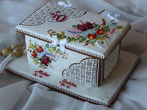 Danka82 / Medovníková kazeta s ornamentom