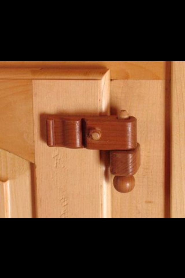 11 best wooden hinge latch examples images on pinterest for Diy to make money