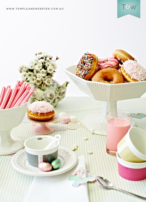 Sweet treats from Rosanna and Baci Milano, styled and photographed by Temple  Webster.