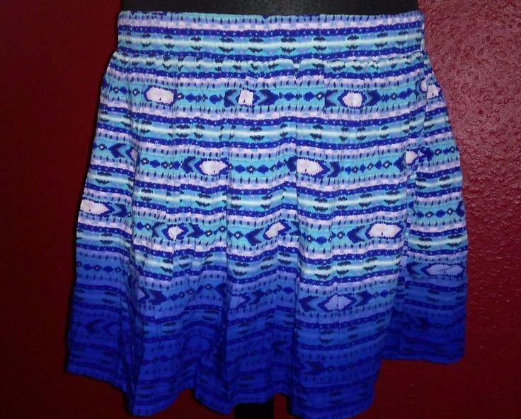 Divided von H&M Damen Rock Sommerrock  Faltenrock Minirock PartyrockGr.40 Blau in Kleidung & Accessoires, Damenmode, Röcke | eBay!