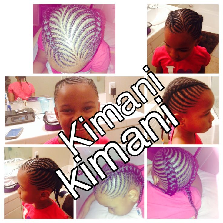 Natural hair cornrows  Kids cornrows Girl cornrows Girl braids Boy braids  Unisex braids Cornrows Cute Girl Style Allen Iverson Fishtail Fishbone  French braid