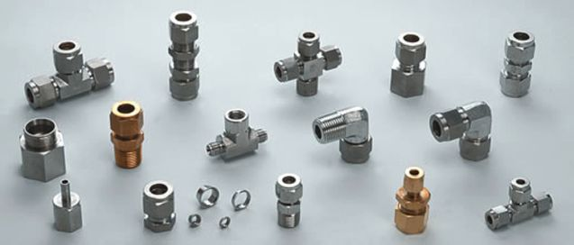 A.K. Industries  are prominent business entity engaged in manufacturing, exporting and supplying a vast array of Tube Fittings. Available in both metric as well as BSP threads, these fittings come with brass cone fitments which enables it to make leak proof joints with the tube.