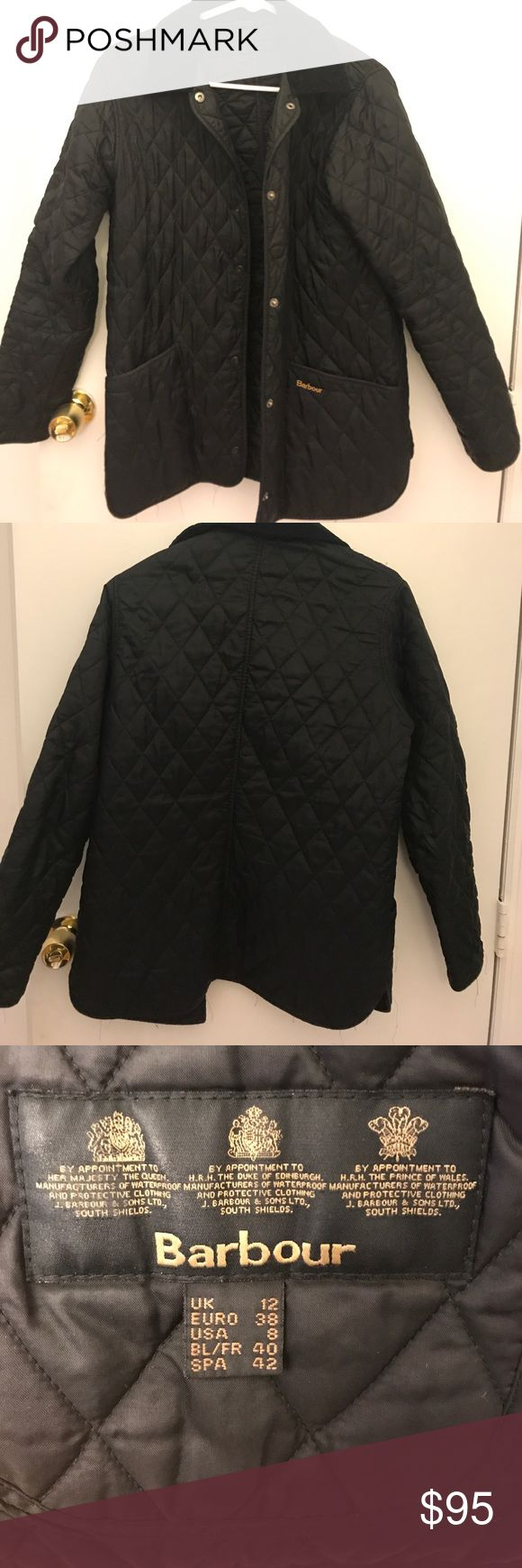 Barbour Quilted Jacket Authentic quilted Barbour jacket. Unfortunately does not fit anymore, otherwise I would keep it forever. Barbour Jackets & Coats