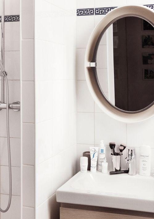 Dans la salle de bain de Jeanne Damas