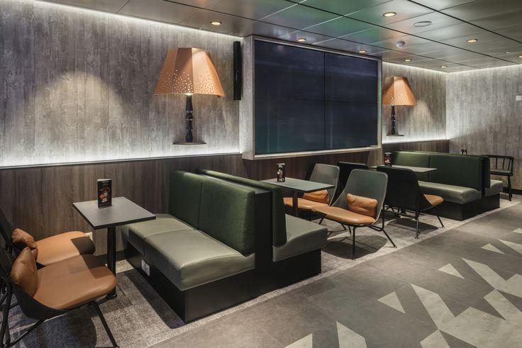 Tallink Megastar pub bar design