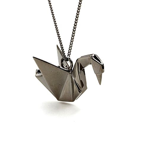 Origami jewelry by Claire & Anaud
