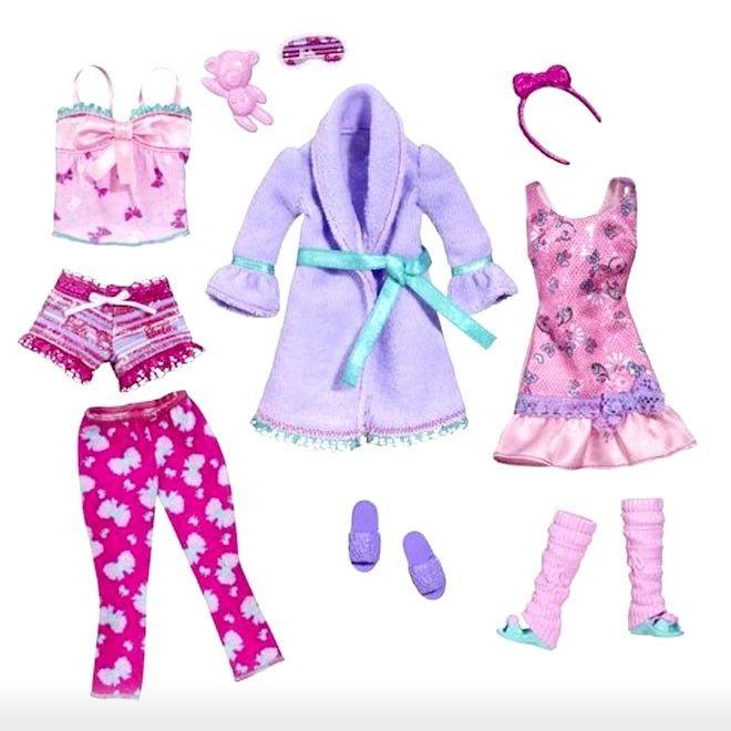 Barbie Toys  3y+  Barbie Fashionistas Dress - Slumber Party Fashion   Shop Online