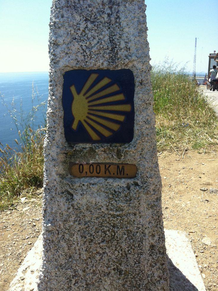 Kilometro cero del Camino Finisterre