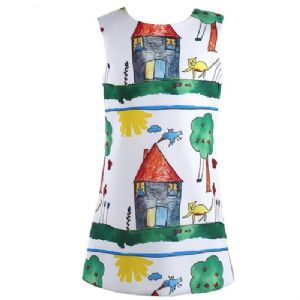 Summer House Scrawl Dress