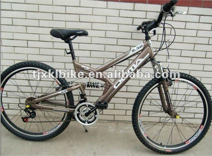 26 mountain bike 1.Hi-ten steel Frame2.Aluminum rim3.F R V Brake4.Saiguan F/R DERAILLEUR Please follow us @ https://www.pinterest.com/wocycling/