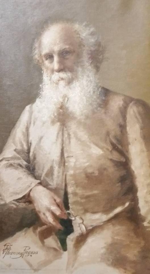 Vincenzo Ragusa anziano, dipinto da O'Tama