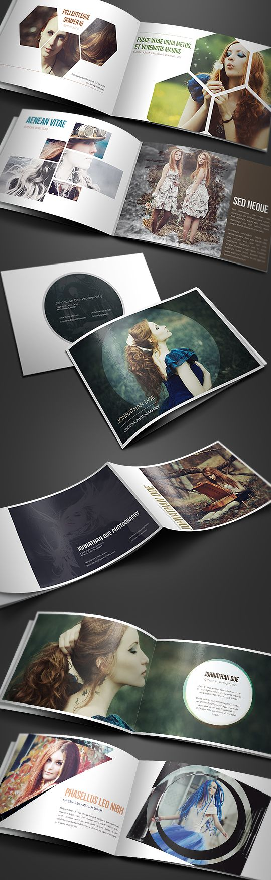 Creative Photography Portfolio A4 Brochure is a 16 paged A4 brochure / portfolio made for photographers, graphic designers, artists and other who want to show their work in different, creative way. Przemyslaw S