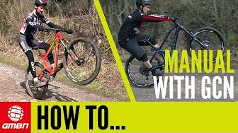 How To Bunny Hop On A Hardtail | Mountain Bike Skills - YouTube