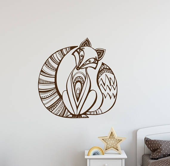 Unique Animal Wall Decals Ideas On Pinterest Bird Doodle - Vinyl wall decals animals