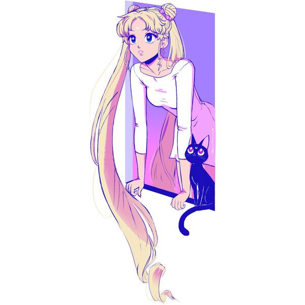 Tumblr ❤ liked on Polyvore featuring anime, manga and sailor moon