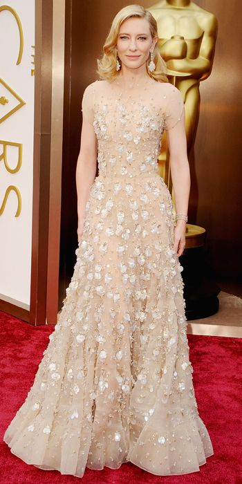 Oscars 2014 Red Carpet Arrivals - Cate Blanchett from #InStyle