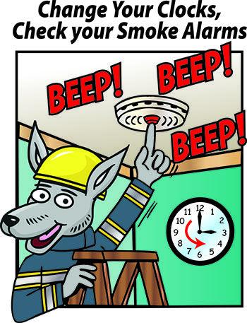 Change Your Clocks, Check Your Smoke Alarms