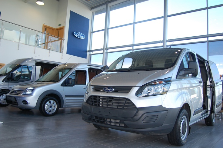 The new Ford Transit Custom joins our commercial vehicle line up in Dunton, Essex.