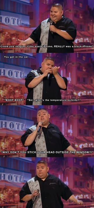 GABRIEL IGLESIAS = The FUNNIEST FLUFFY NIGGA I KNOW.