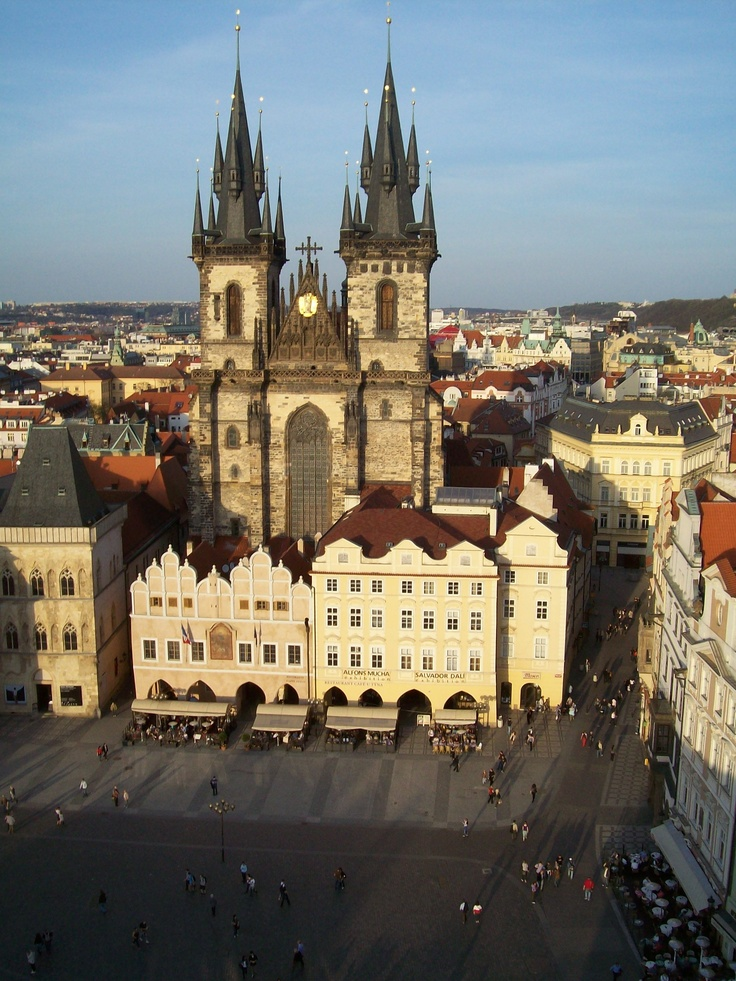 Prague Castle and Catherdral. One of the best ways to explore the Elbe River through the Czech Republic and Germany is by bike.