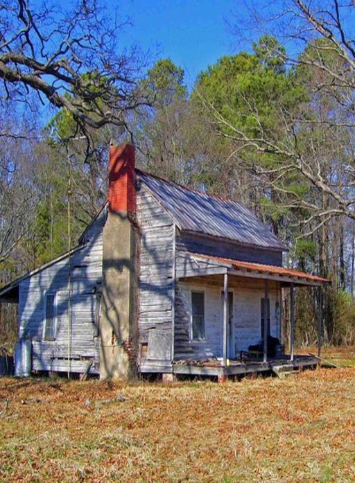 Old Time Farm House