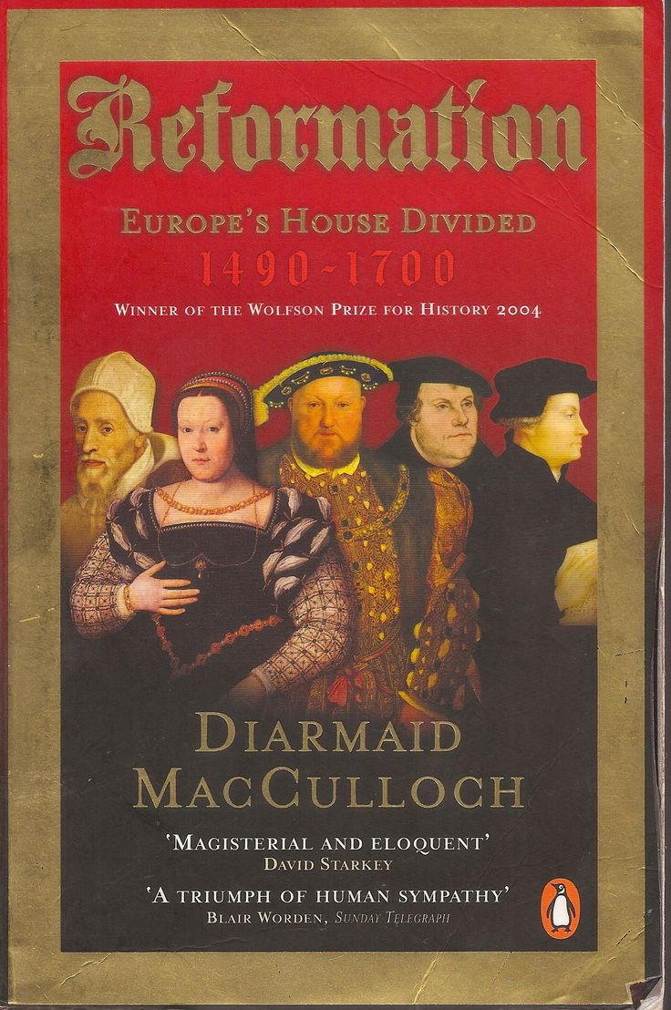 Reformation: Europe's House Divided, By Diarmid Macculloch Penguin  London, 2004