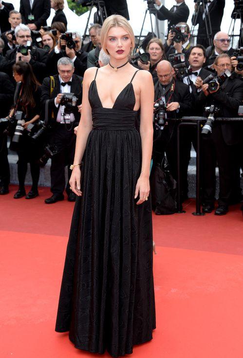 Cannes 2016 - Lily Donaldson in Miu Miu - Day 1 (cérémonie d'ouverture - montée des marches Cafè Society)