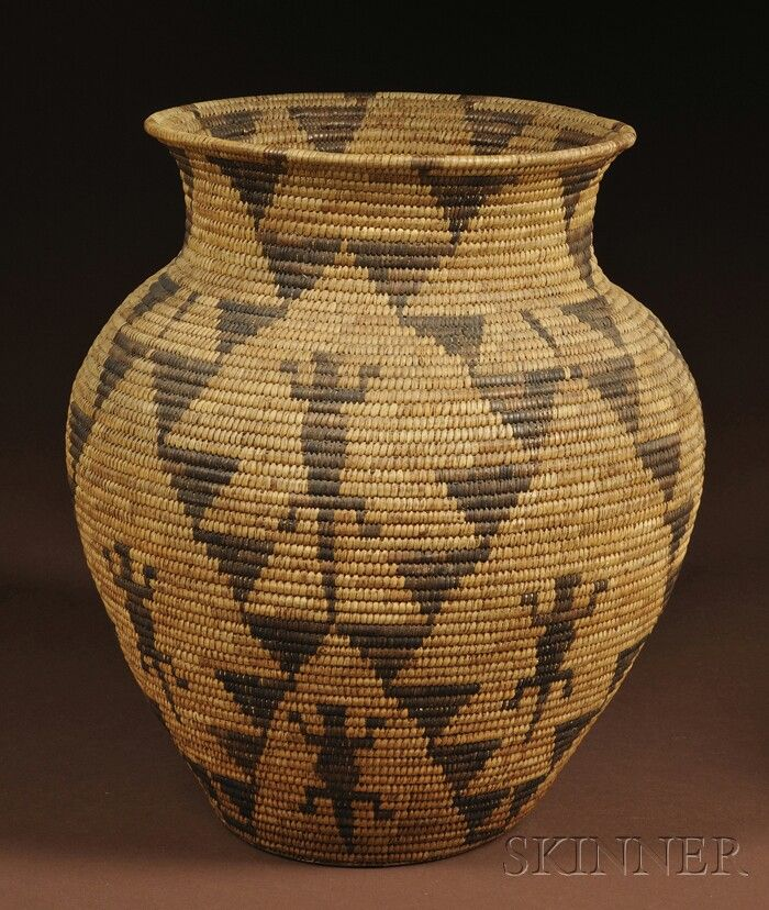 Traditional Native American Basket Weaving : Best traditional american indian baskets images on