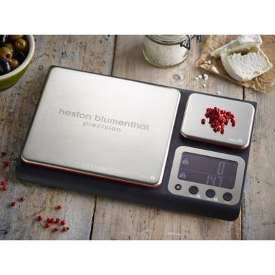 Salter® Precision Dual Platform Flat Digital Kitchen Weighing Scale