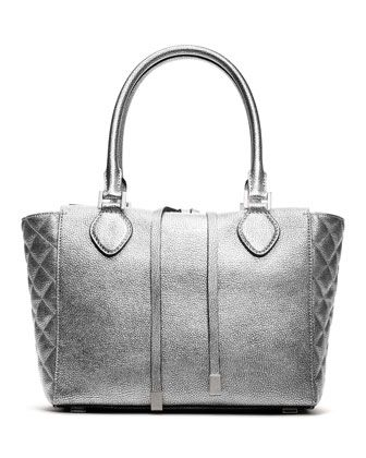 Michael Kors Miranda Quilted-Side Tote.