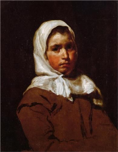 Young Peasant Girl - Diego Velazquez