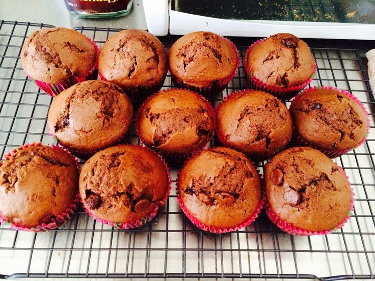 Brown sugar double chocolate cupcakes <3