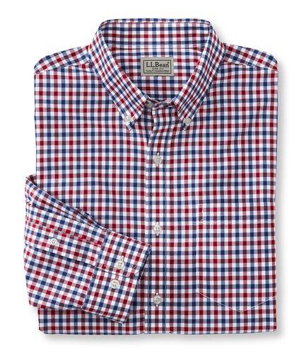 Wrinkle resistant kennebunk sport shirt from l l bean on for Ll bean wrinkle resistant shirts
