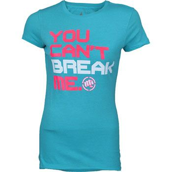 Punishment Athletics Women's You Can't Break Me Shirt - MMAWarehouse.com - I fight like a girl
