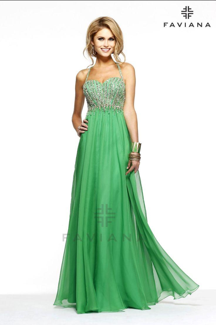 Long Beaded Evening Dresses
