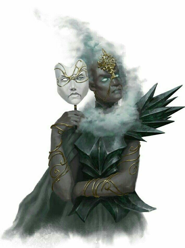 Female Sylph Aristocrat - Pathfinder PFRPG DND D&D d20 fantasy