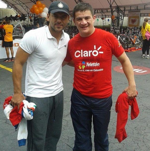 Teléton Colombia .con el parcero señor ron .⚽️