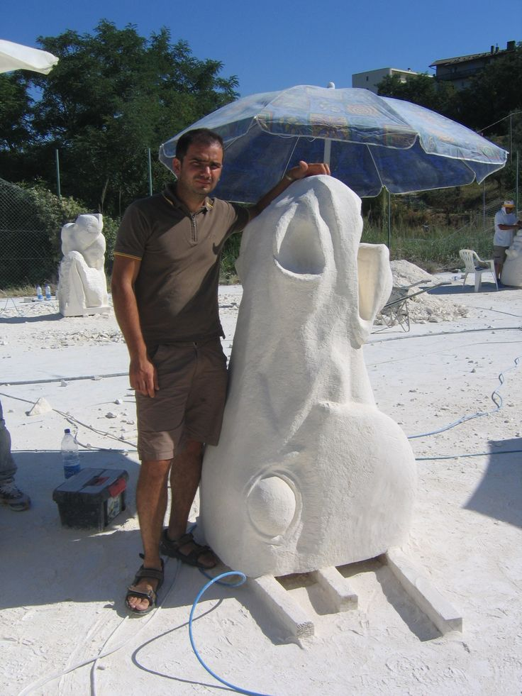 Comune di Atessa  scultura su pietra di Vicenza 2008